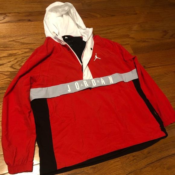 9d31ca310ec6 Nike Air Jordan Wings Anorak Wind Jacket